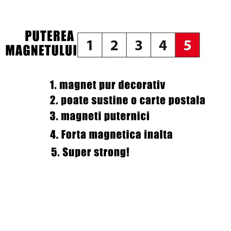 Magnet - CUBE (4 buc/set) 3