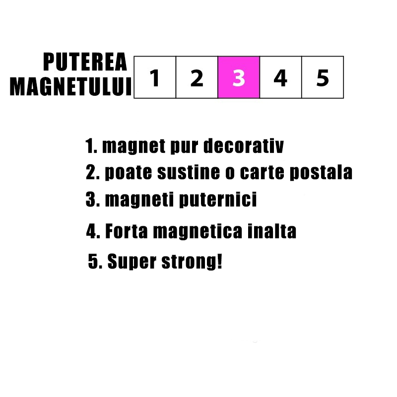 Magneti din lemn - cub - TIMBER (7 buc/set) 2